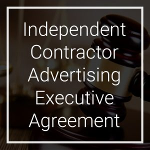 Crescendo Legal | Independent Contractor Advertising Executive Agreement - CLUS-INDC-229